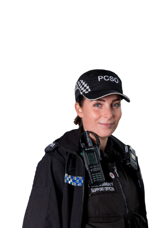 An image of a female police community support officer