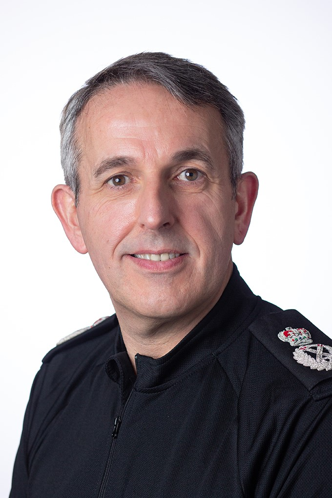 Image of Chiref Constable Chris Rowley