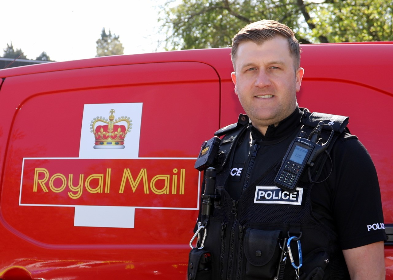 Postman by day and Special Constable by night!