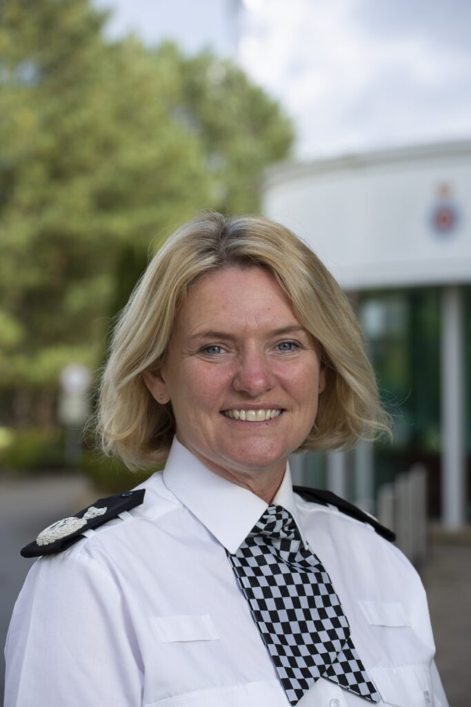 Deputy Chief Constable Sacha Hatchett